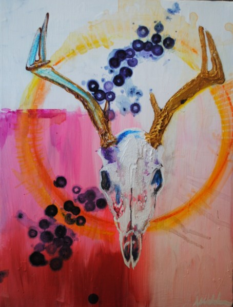 ASHLEY WALDEN_DEER SKULL MAGIC